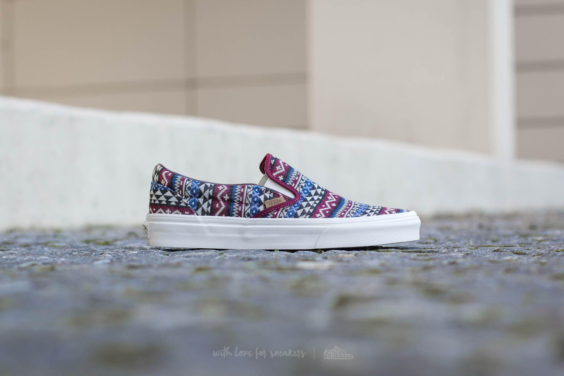 Vans Blanket Weave Slip On Sneaker | Slip on, Slip on shoes