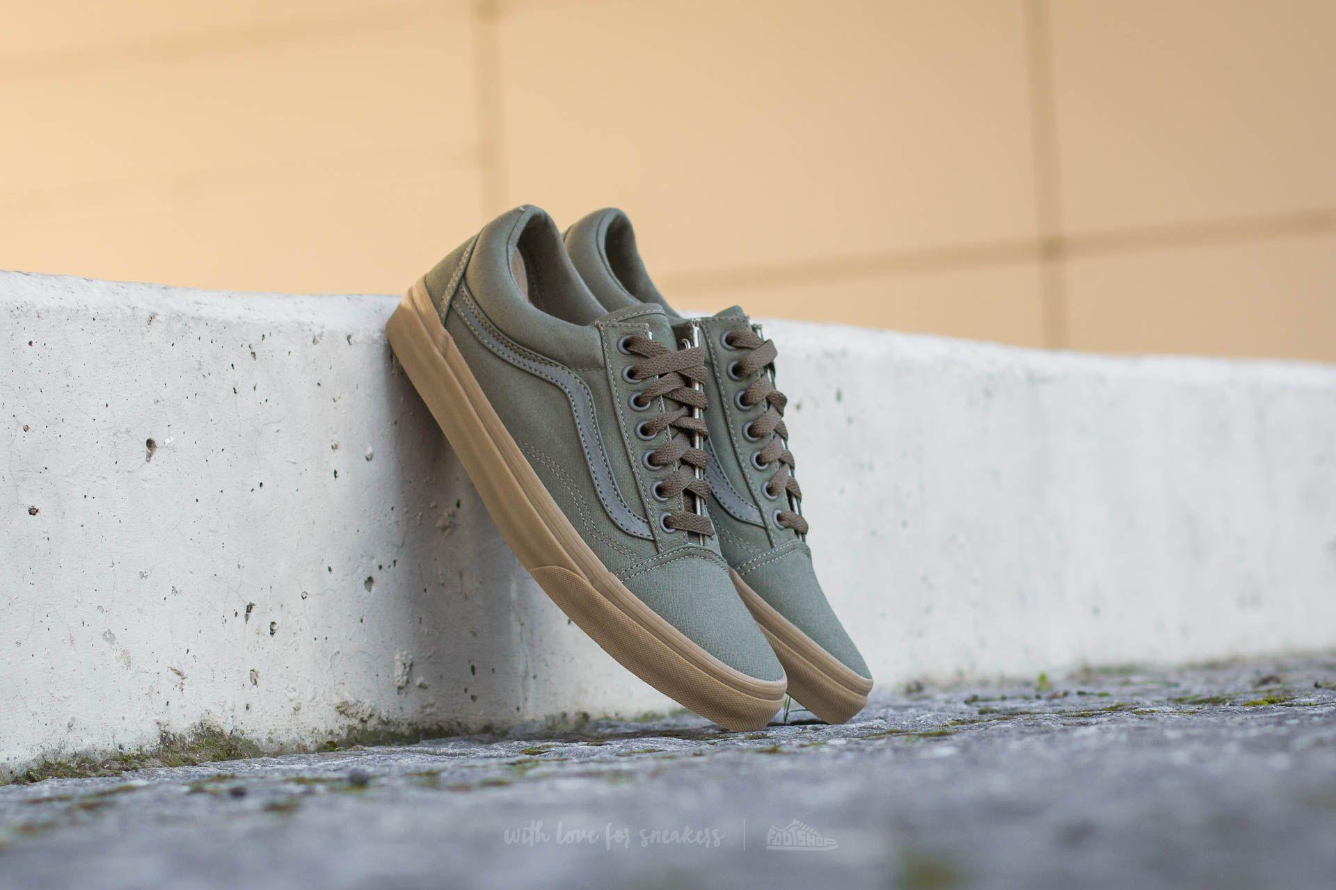 Men's shoes Vans Old Skool (Canvas Gum