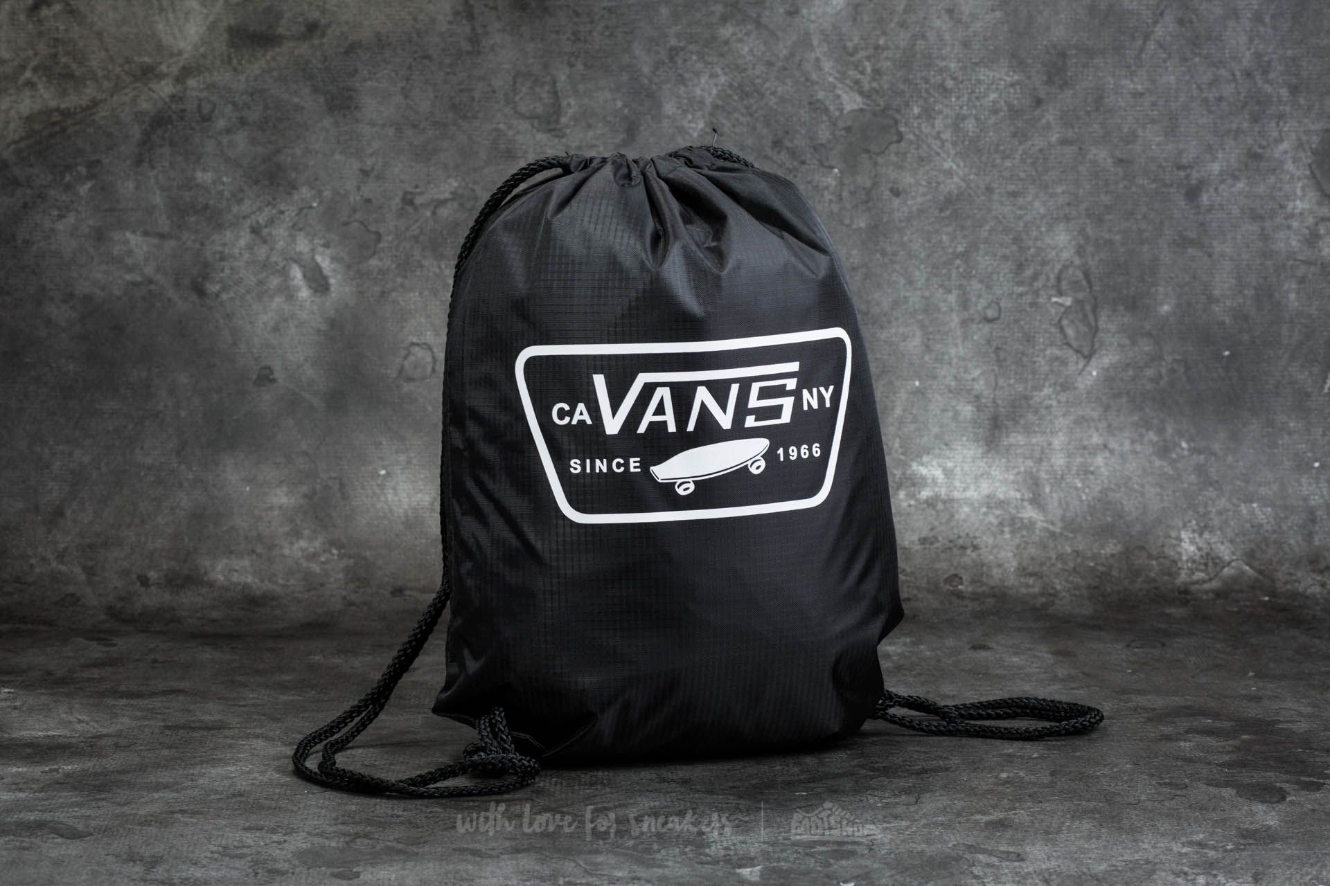 Gym Bag Vans League Bench Bag Black-White