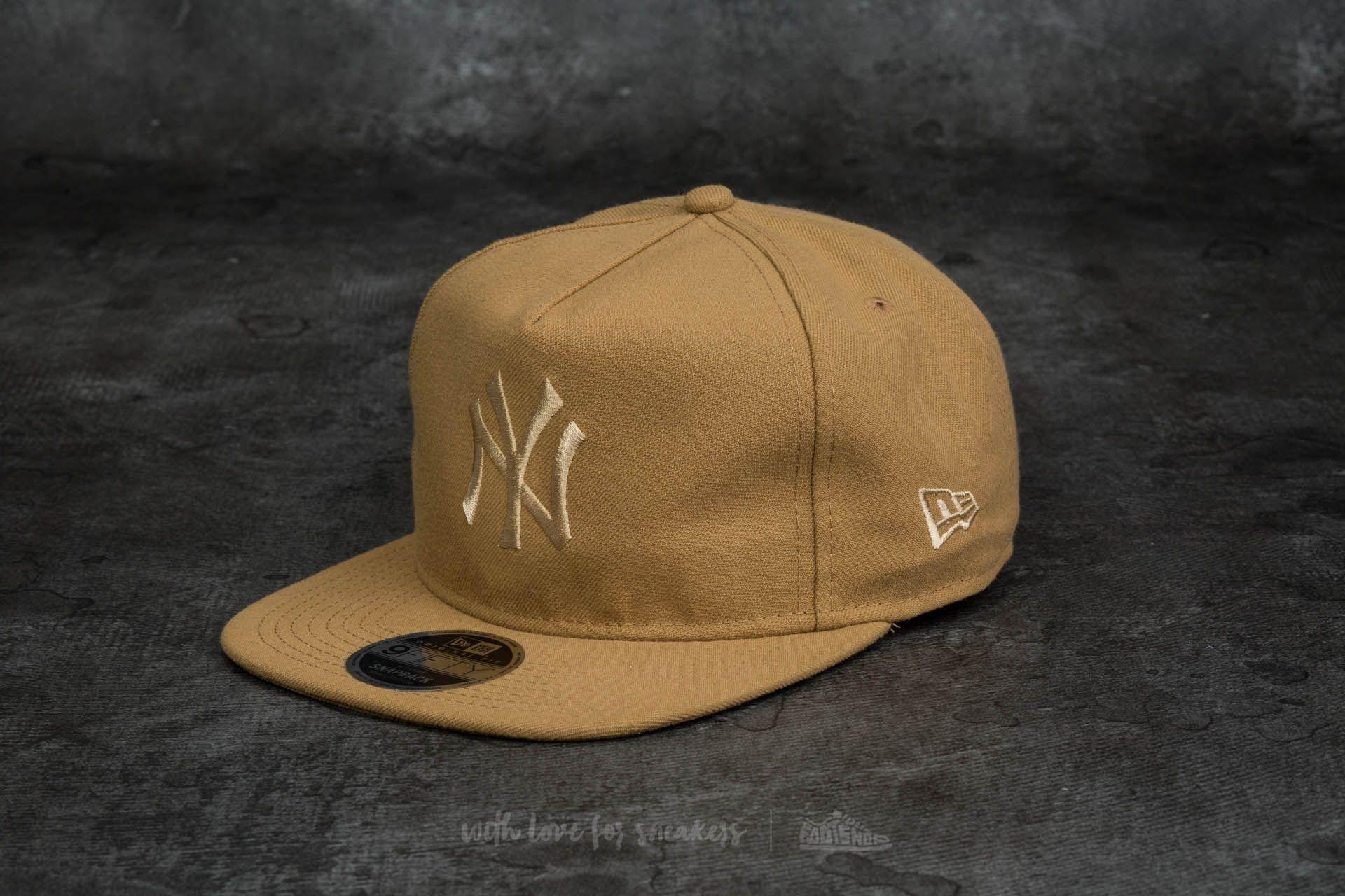 97324f60bb2 New Era 9Fifty Tonal Unstructured New York Yankees Cap Sand ...