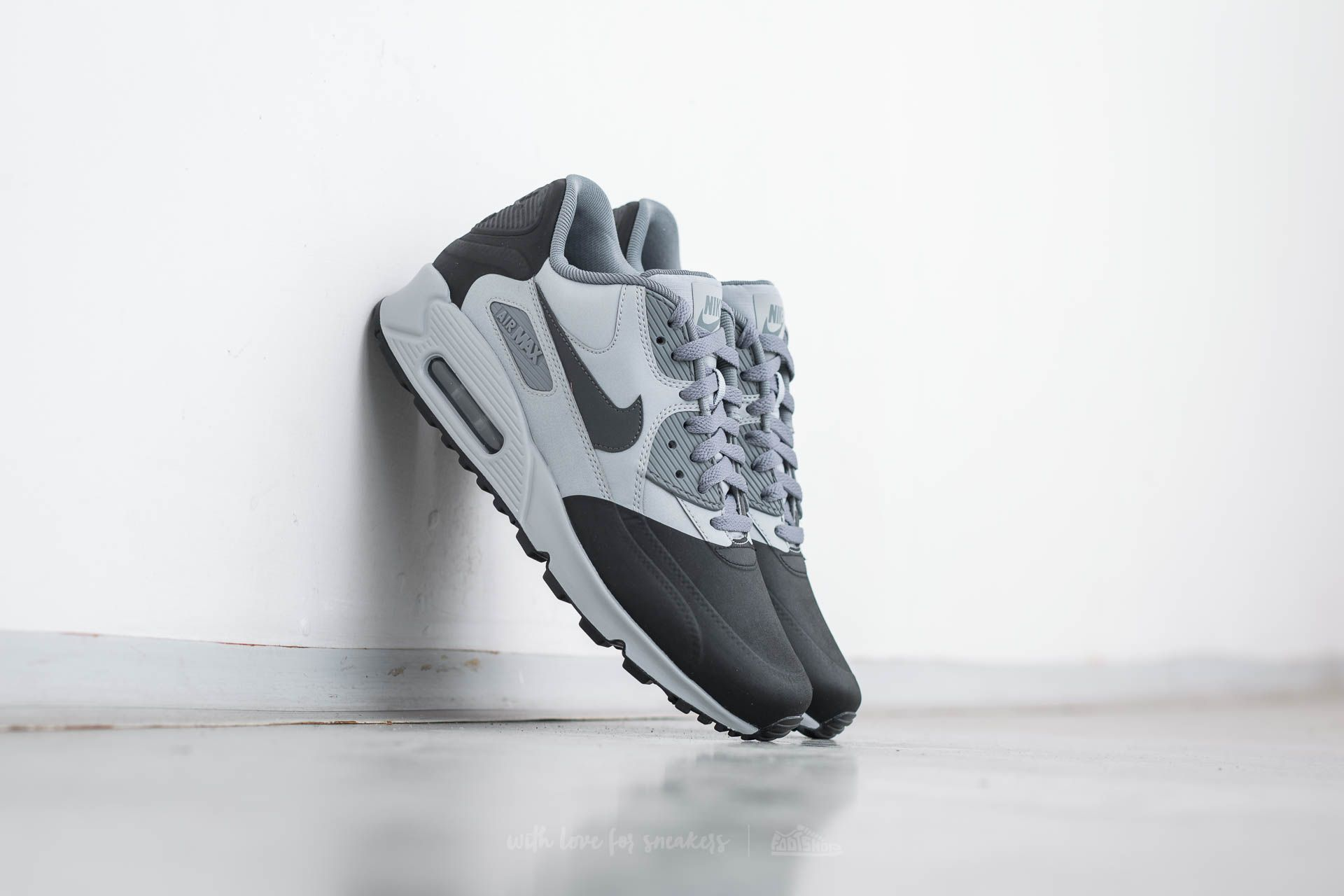 2a933d983f Nike Air Max 90 Premium SE Wolf Grey/ Anthracite-Cool Grey | Footshop