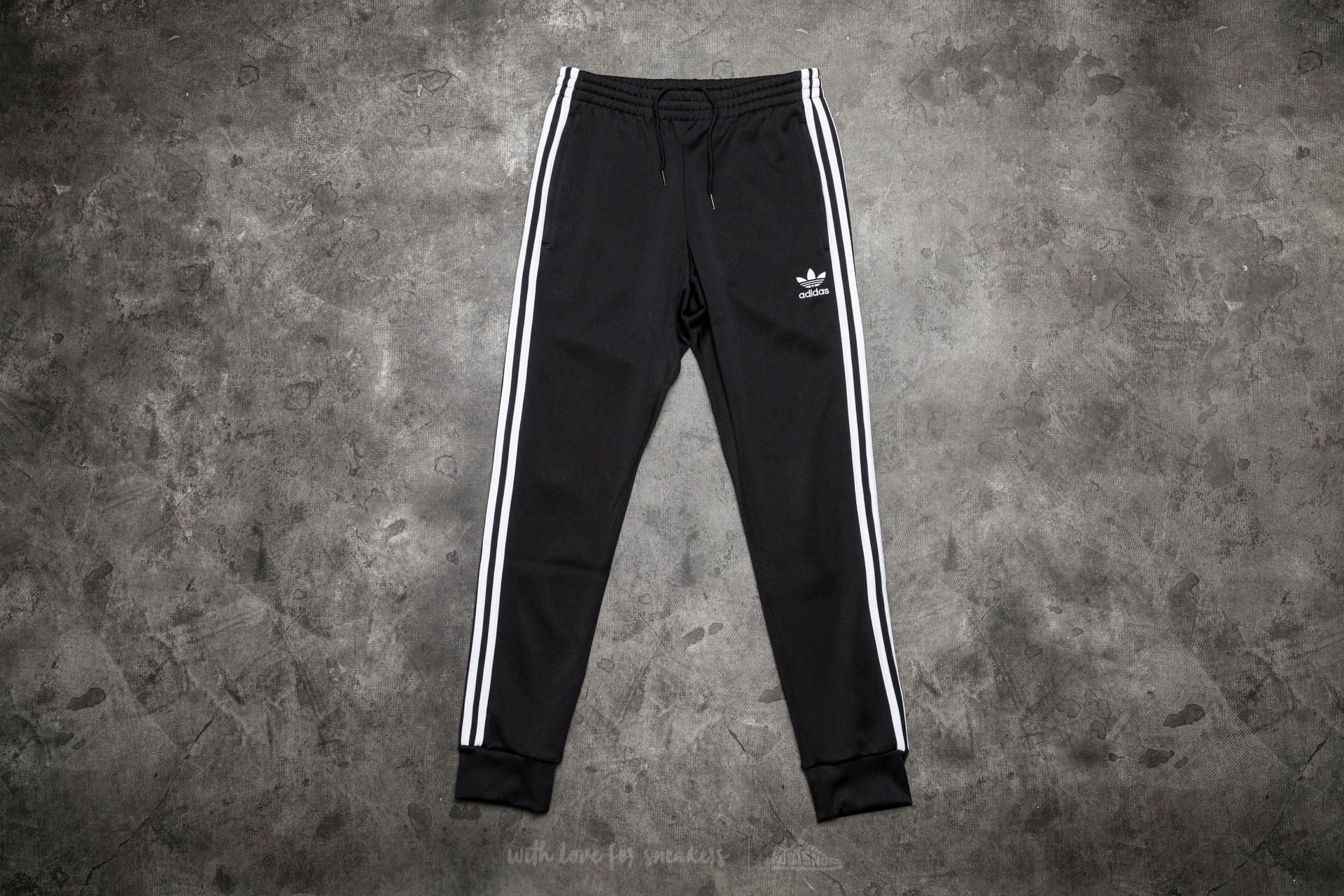 10fecce8ee0e adidas Superstar Cuffed Track Pants Black