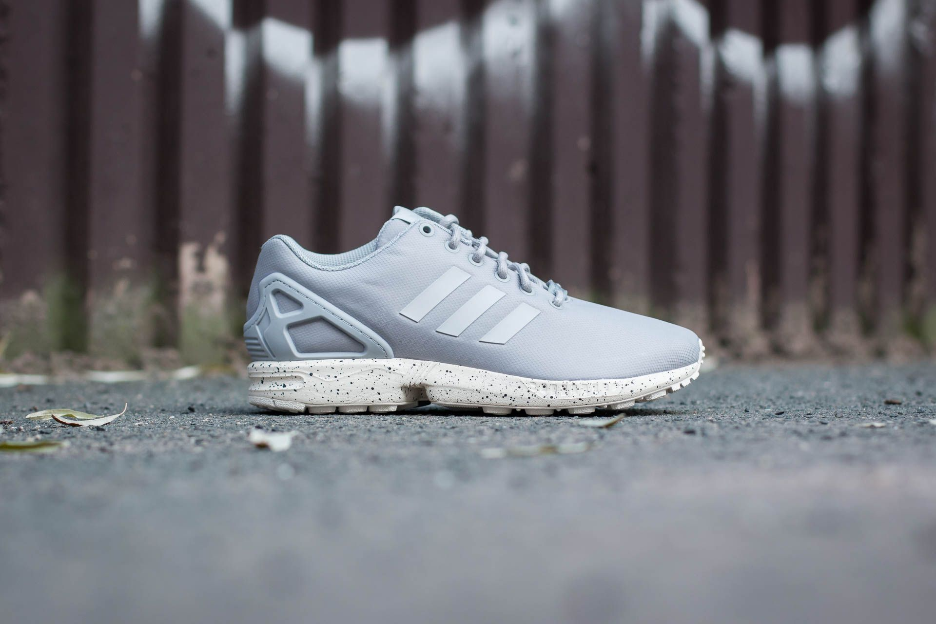 adidas ZX Flux Clear Onix Grey Chalk White | Footshop