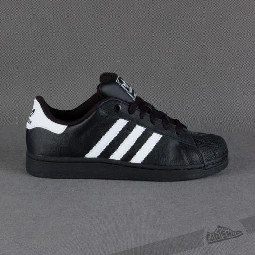 closer at picked up official images adidas Superstar 2 Black/White/Black | Footshop