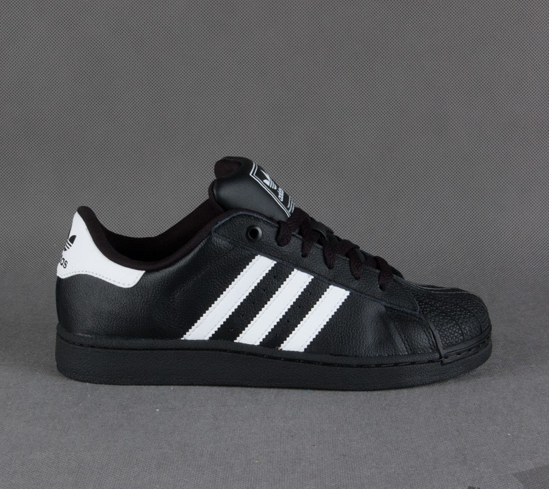 adidas Superstar 2 Black White Black  998abc6790