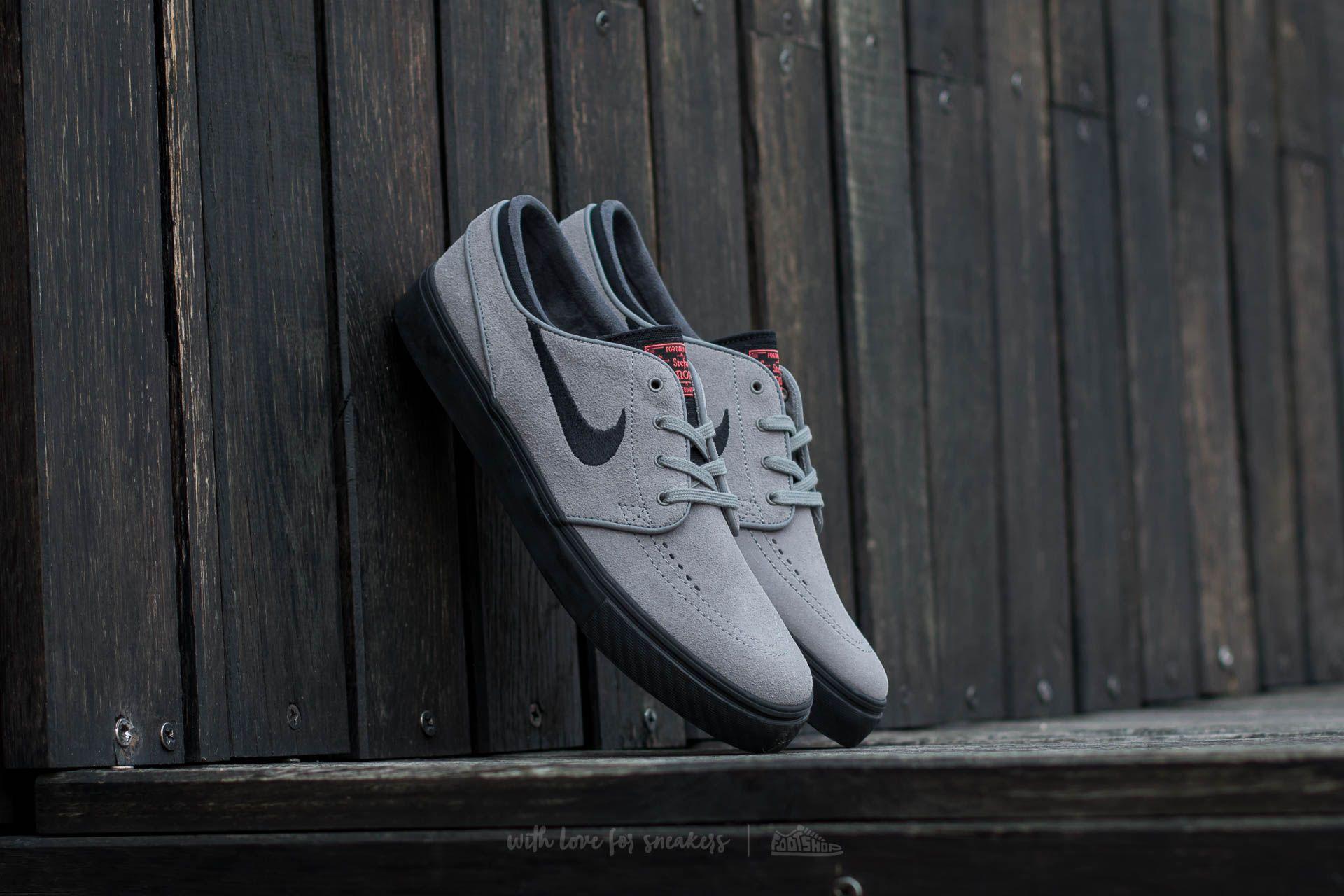 Nike Zoom Stefan Janoski Dust Black Ember Glow White   Footshop