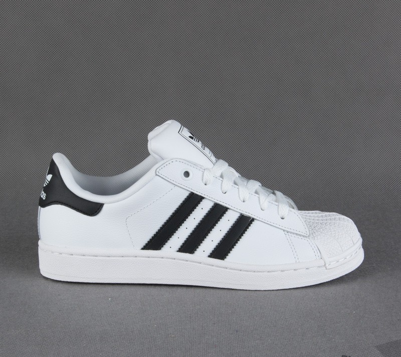new style f4129 583df adidas Superstar 2 White/Black/White | Footshop