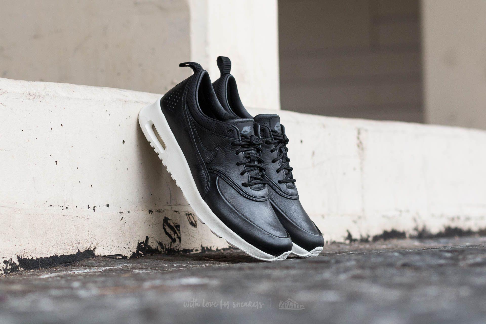 Nike Wmns Air Max Thea Pinnacle Black Black Sail   Footshop