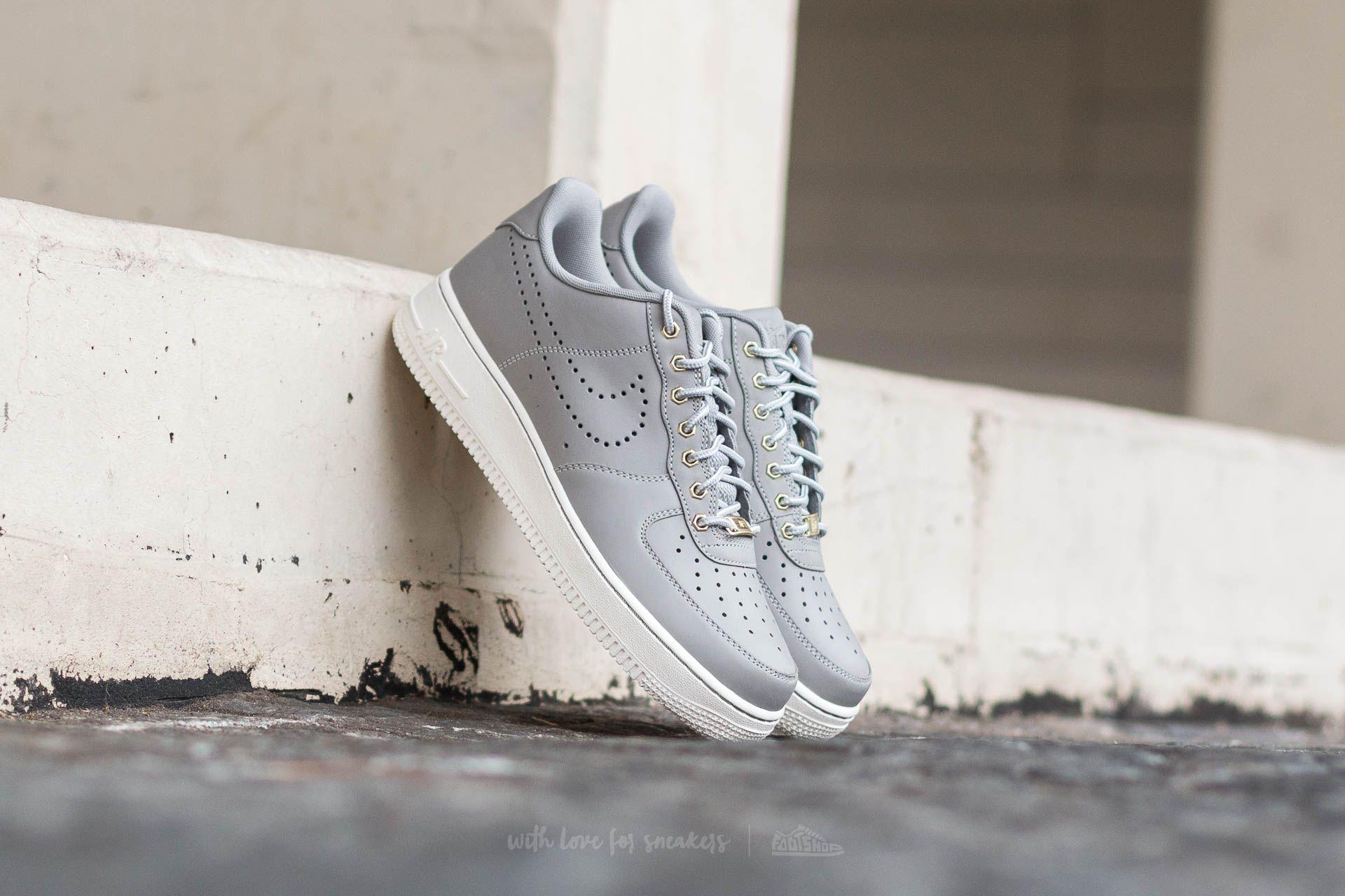 4076acf59ce005 Nike Air Force 1 ´07 LV8 WB Medium Grey  Medium Grey-Sail ...