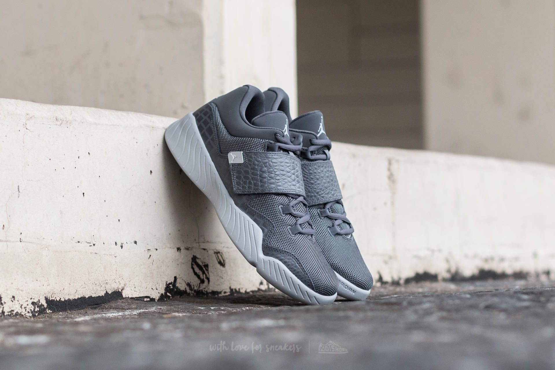 222ee1d78ca3b3 Jordan J23 Dark Grey  Metallic Silver