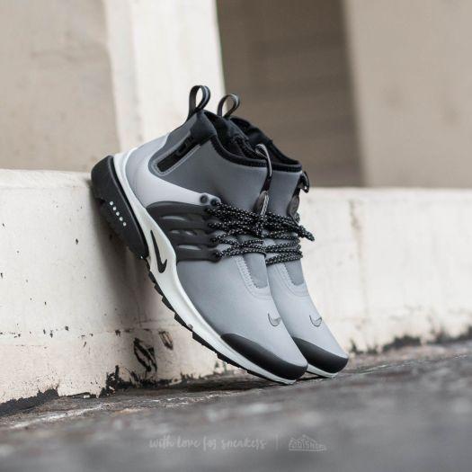 innovative design fashion style reasonable price Nike Air Presto MID Utility Cool Grey/ Black-Off White-Volt | Footshop
