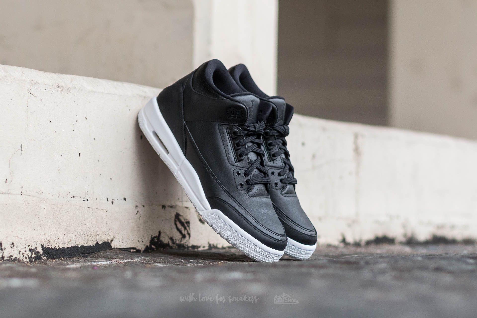 Air Jordan 3 Retro BG Black