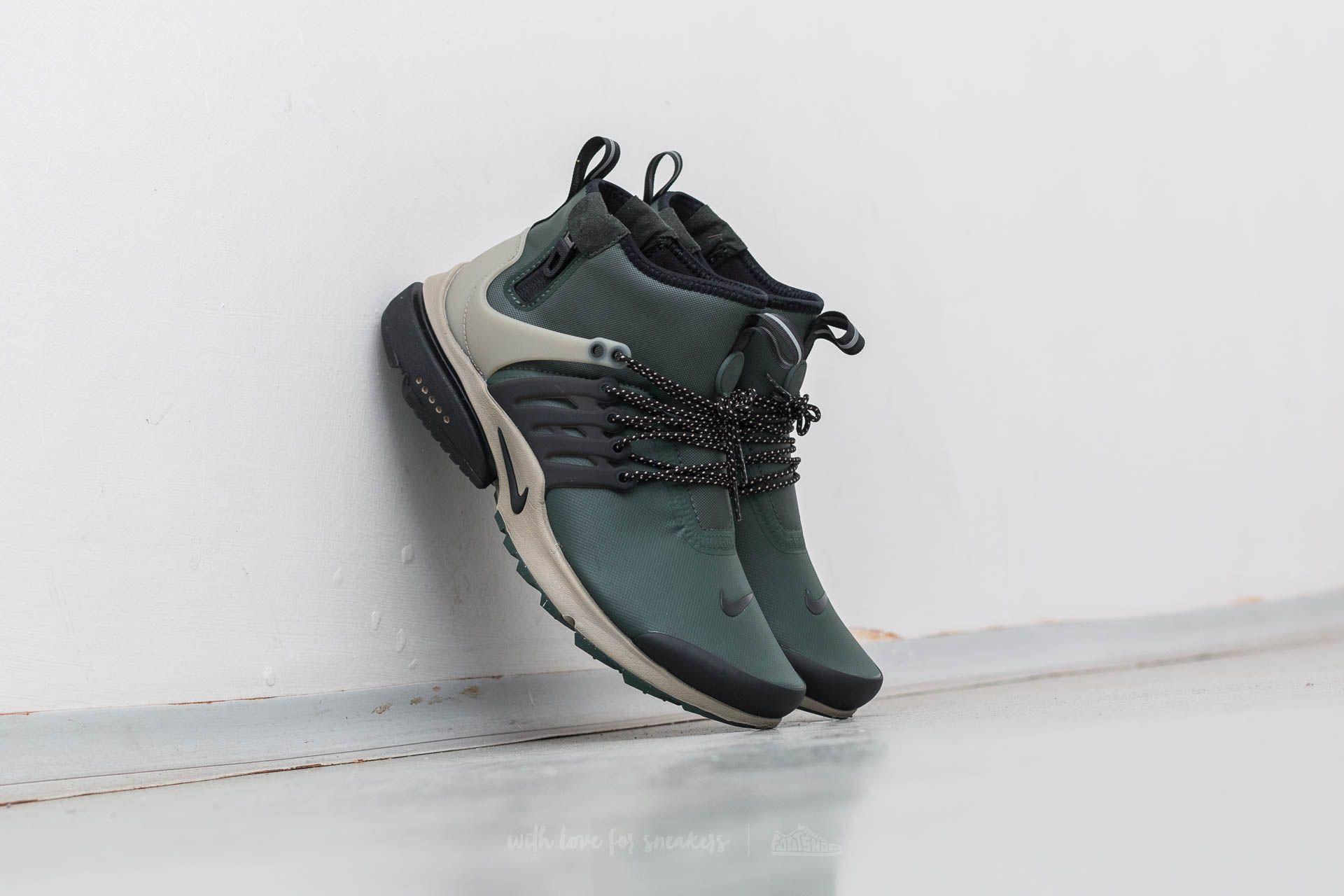 7fe17139a0b3 Nike Air Presto Mid Utility Grove Green  Black-Khaki