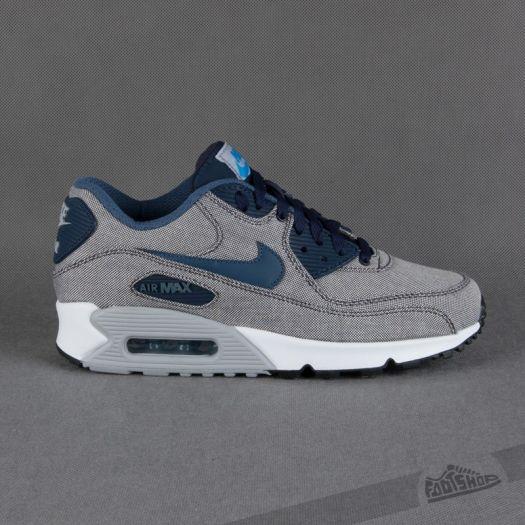 Nike Air Max 90 Premium ObsidianNew Slate | Footshop