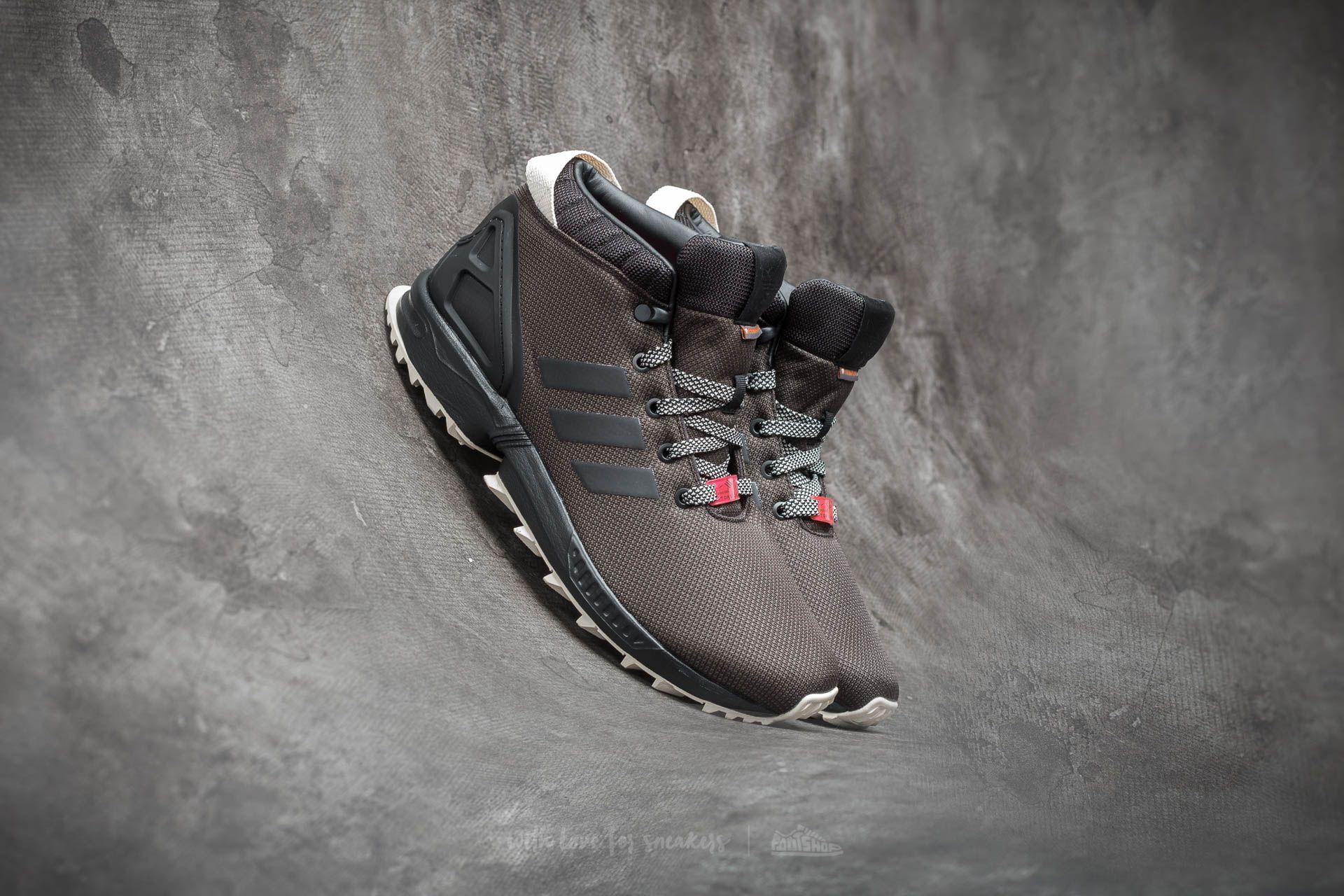 98b4ba8c5 adidas Zx Flux 5  8 Trainers Core Black  Utility Black  Core White ...