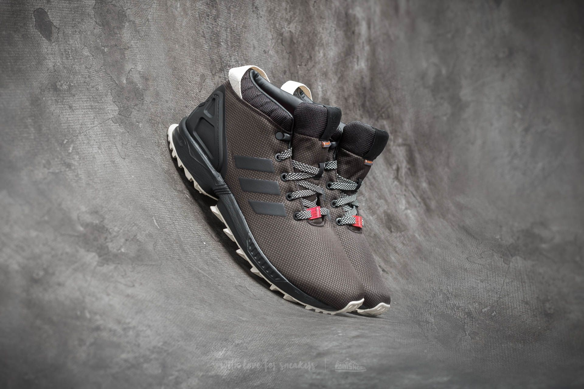 b0485470b0e2a adidas Zx Flux 5  8 Trainers Core Black  Utility Black  Core White ...