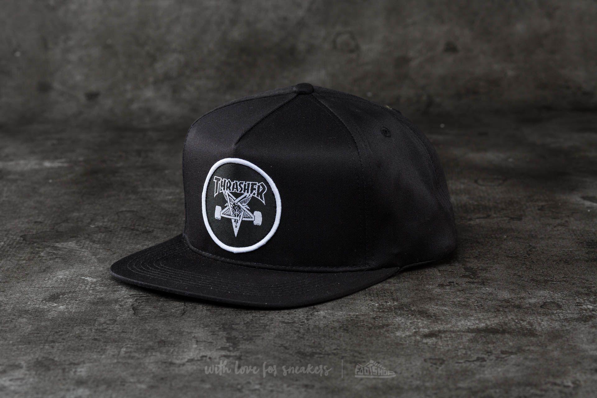 61268660dab Thrasher Skategoat Snapback Black