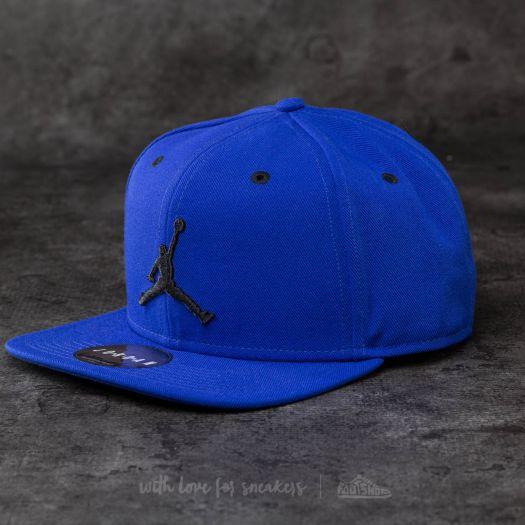 Jordan Jumpman Snapback Blue  Black  85ec3dc4af2