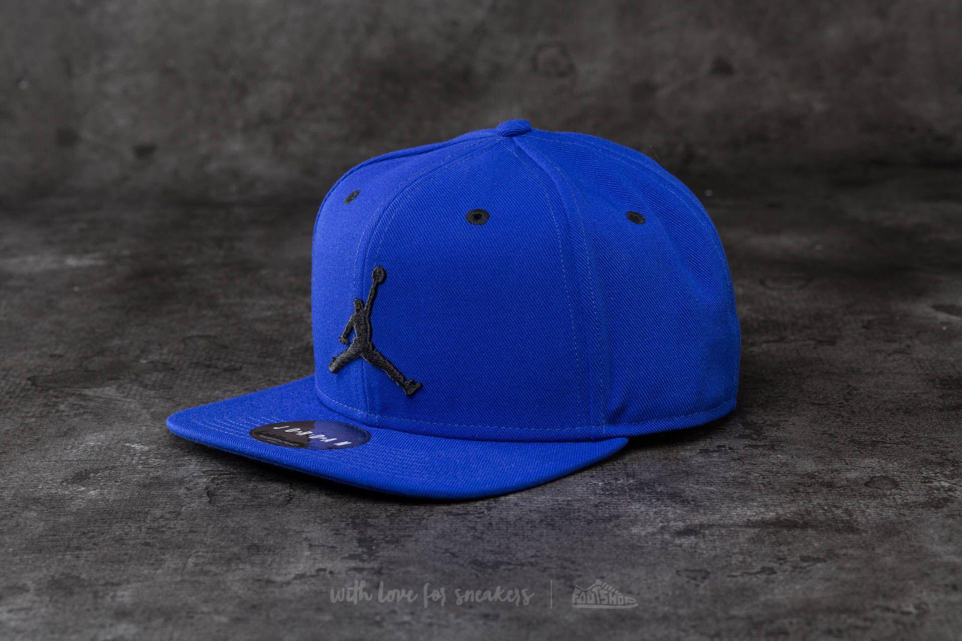 Jordan Jumpman Snapback Blue  Black  43ffc9ff218f