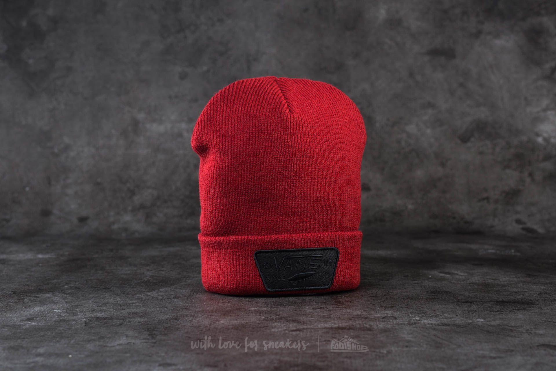 Vans Milford Beanie Red Dahlia  50d5ce53b012