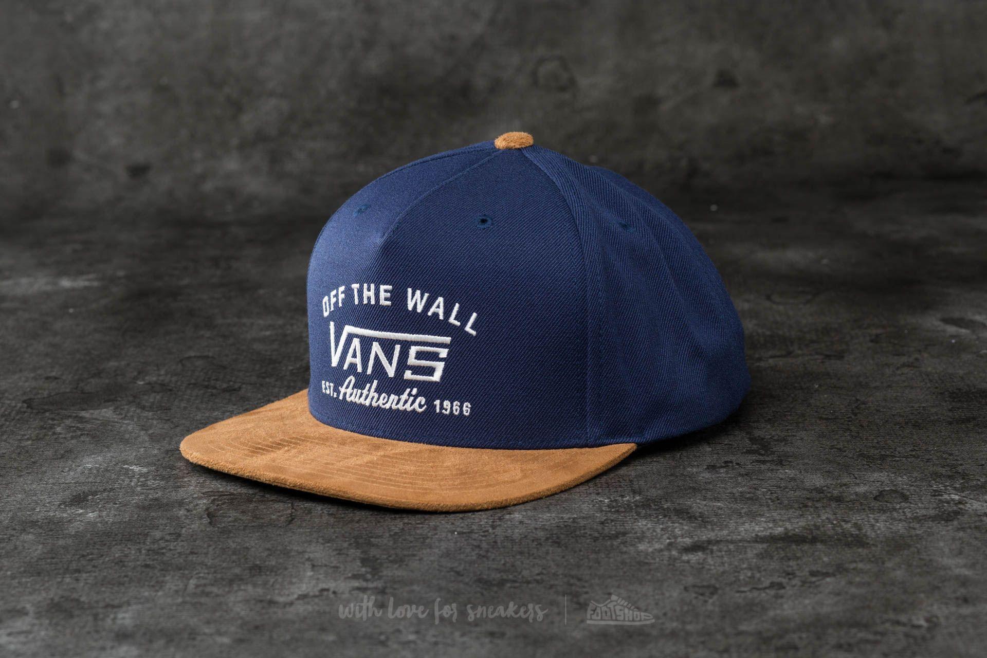 Vans Authentic Starter Hat Dress Blues  022d254f524