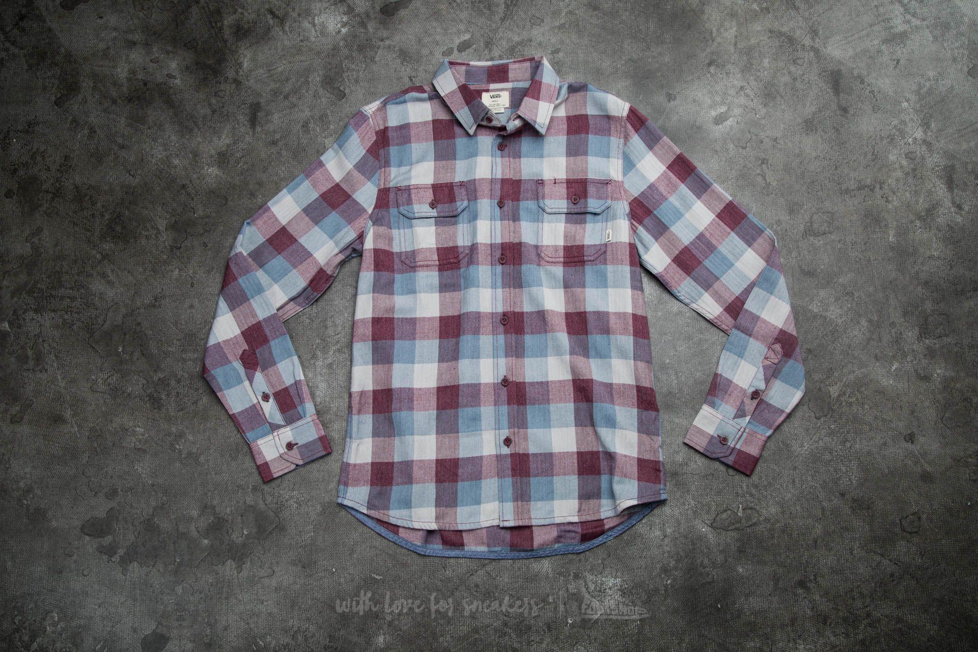 54df262524 Vans Alameda Buttondown Shirt Port Royale  Blue