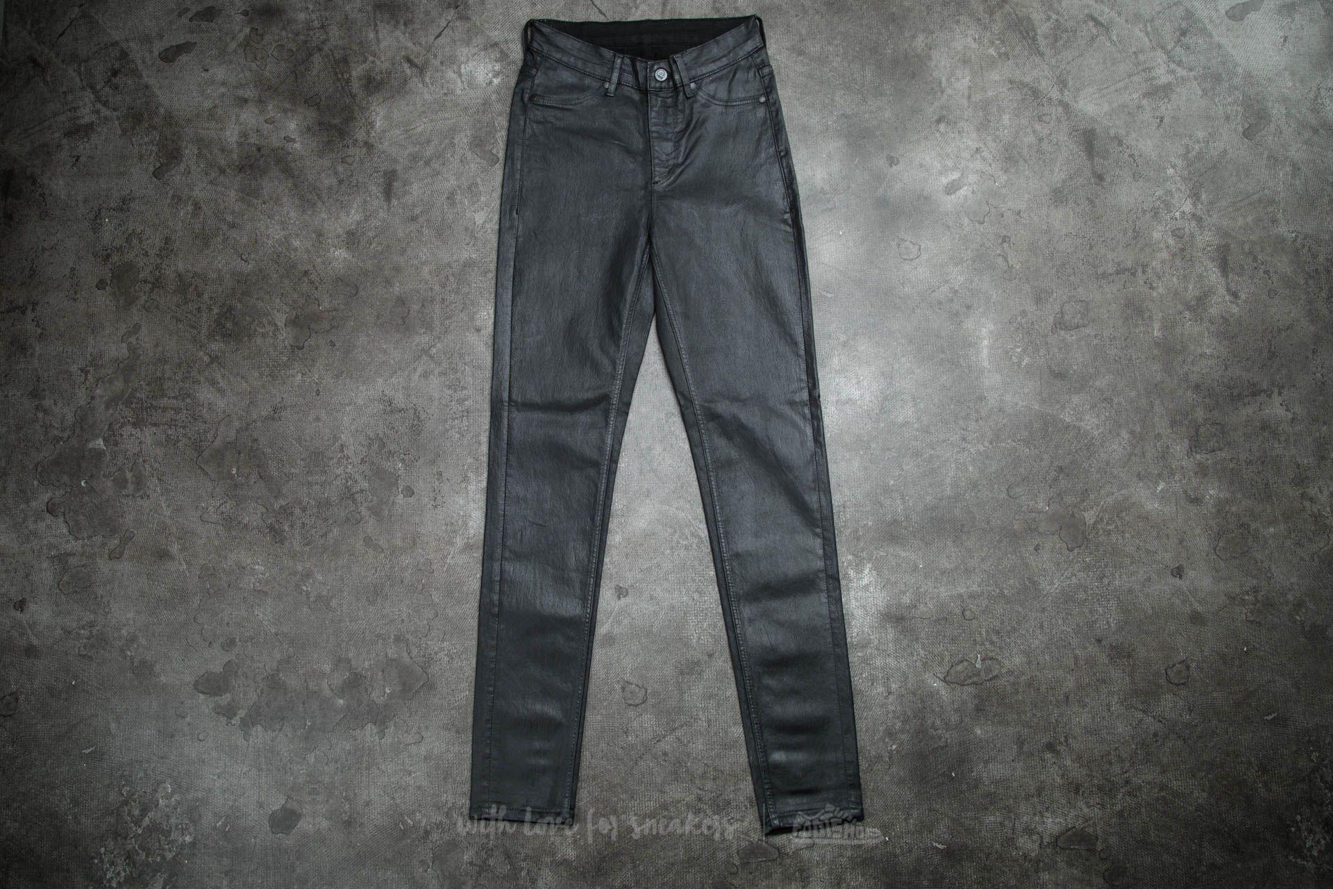 Cheap Monday High Spray Jeans Black za skvělou cenu 490 Kč koupíte na Footshop.cz