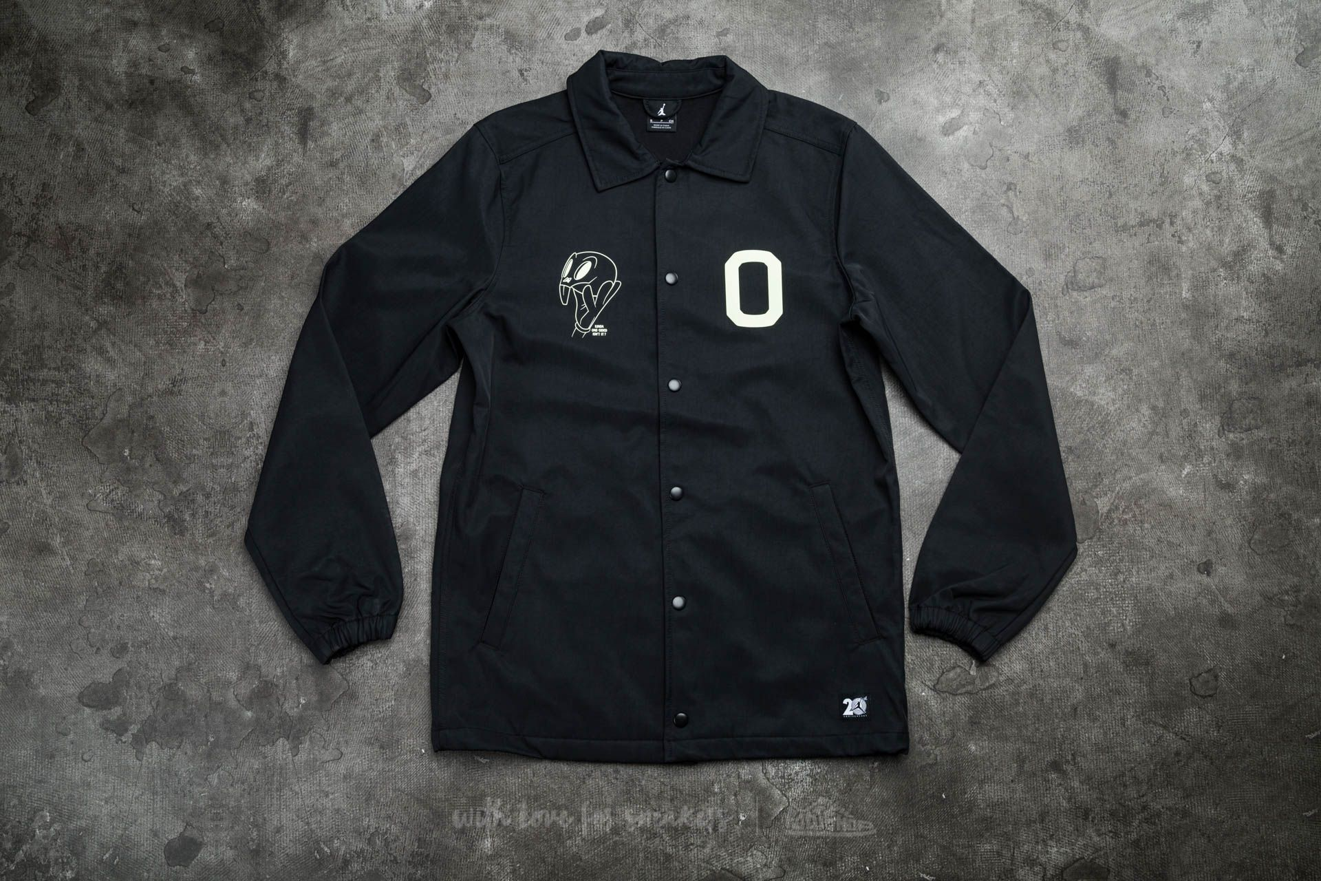 4cb935f978ea90 Air Jordan 11 20TH Anniversary Space Jam Jacket Black