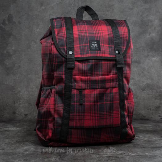 Vans Caravaner Backpack Red Dahlia  d9d110494b7