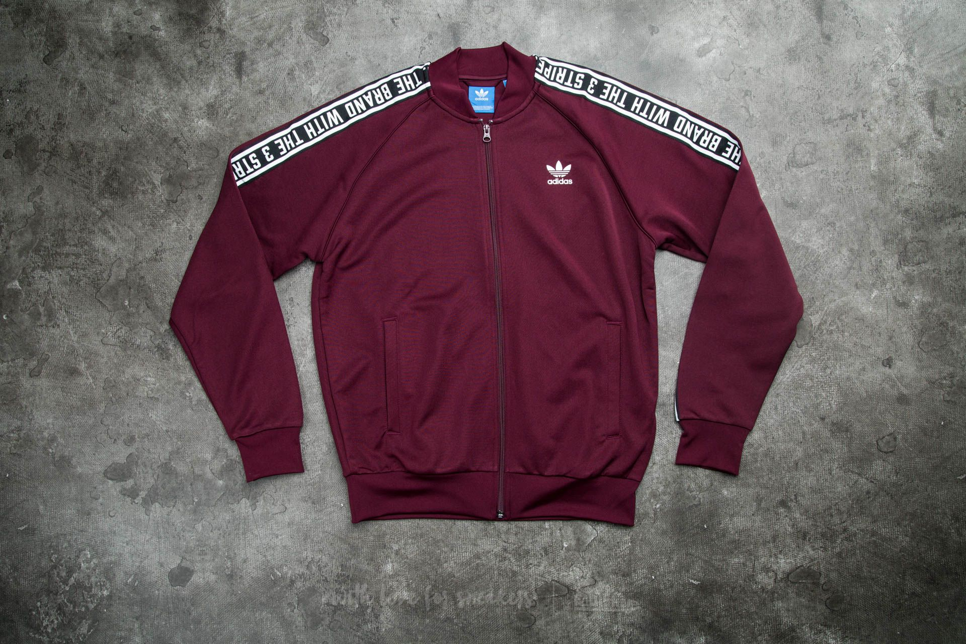 adidas Essential SuperStar Track Tops Maroon