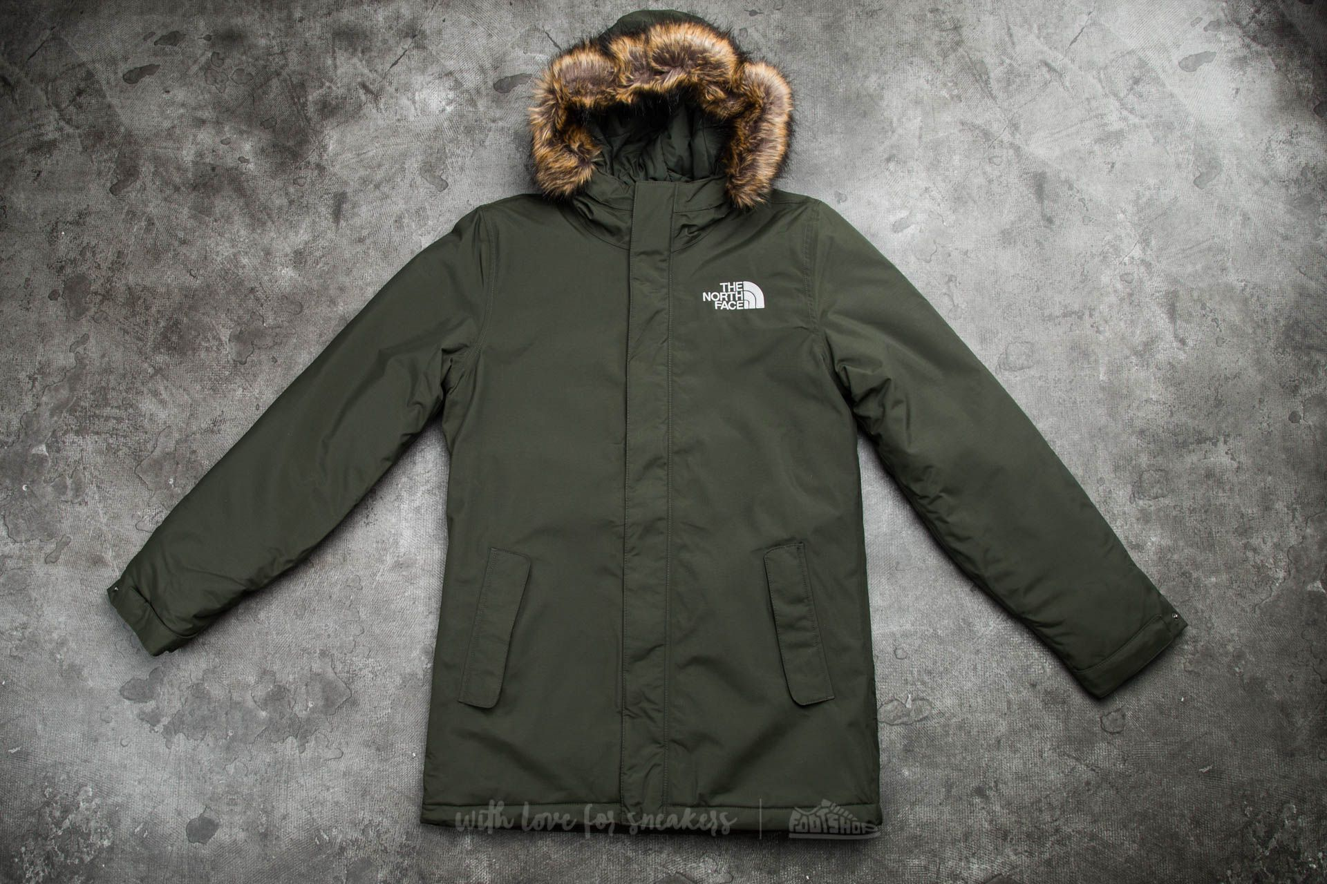 The North Face M Zaneck Jacket Rosin Green  509fcf463