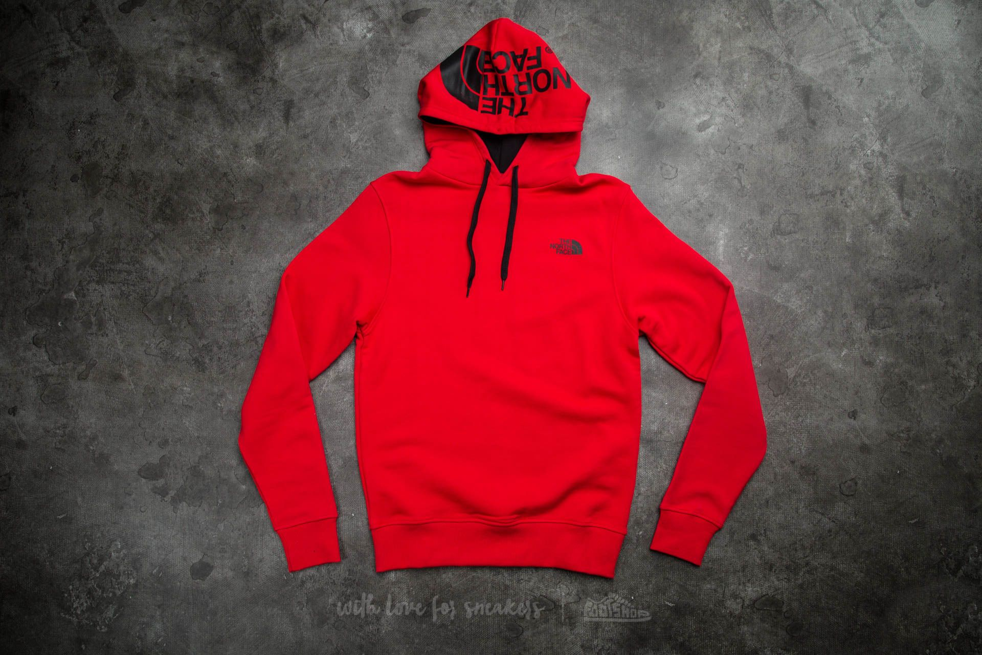 592bcc918 The North Face M Seasonal Drew Peak Pullover Hoodie Tnf Red | Footshop