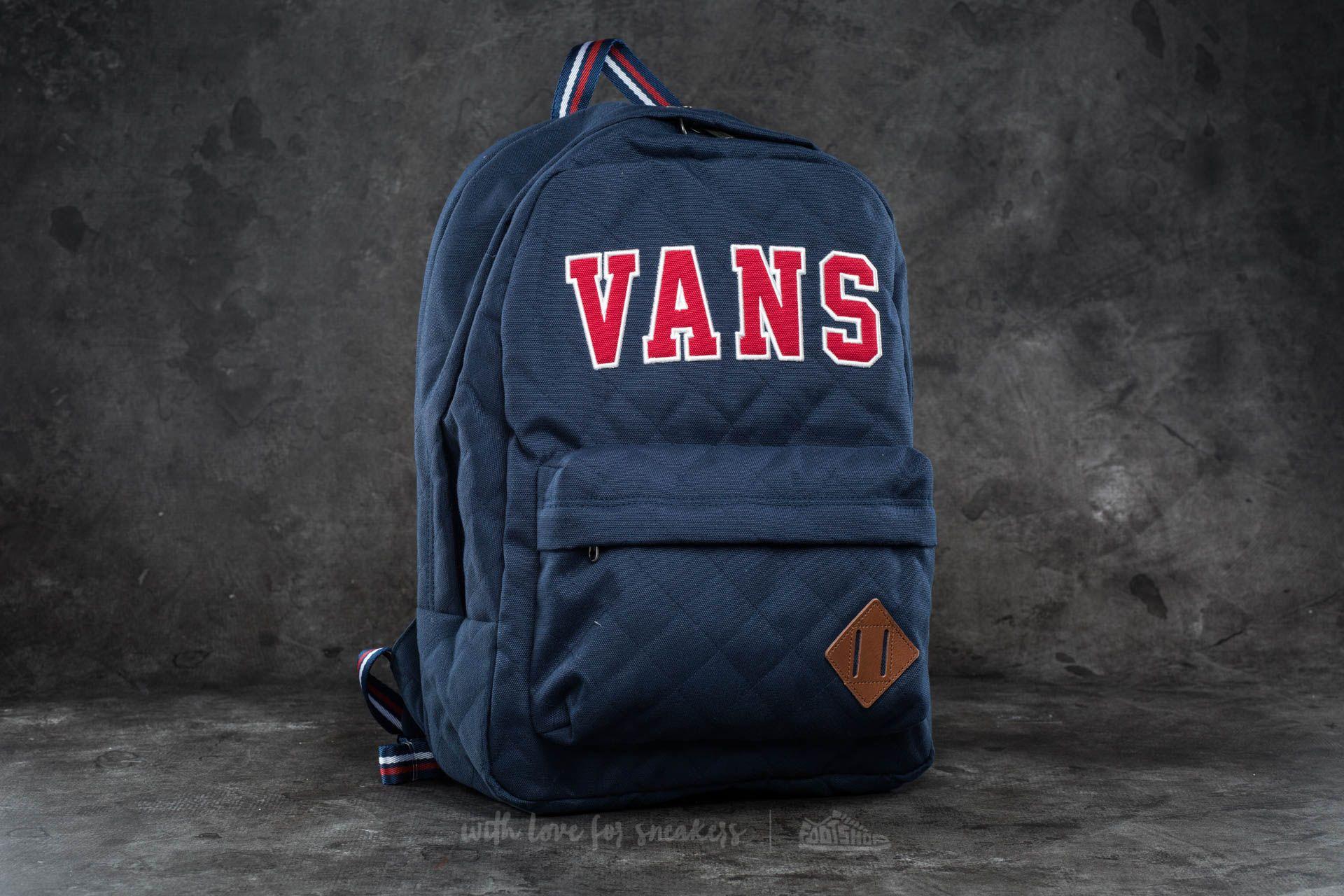 Vans Old Skool Plus Backpack Dress Blues  Chili Pepper  257790836