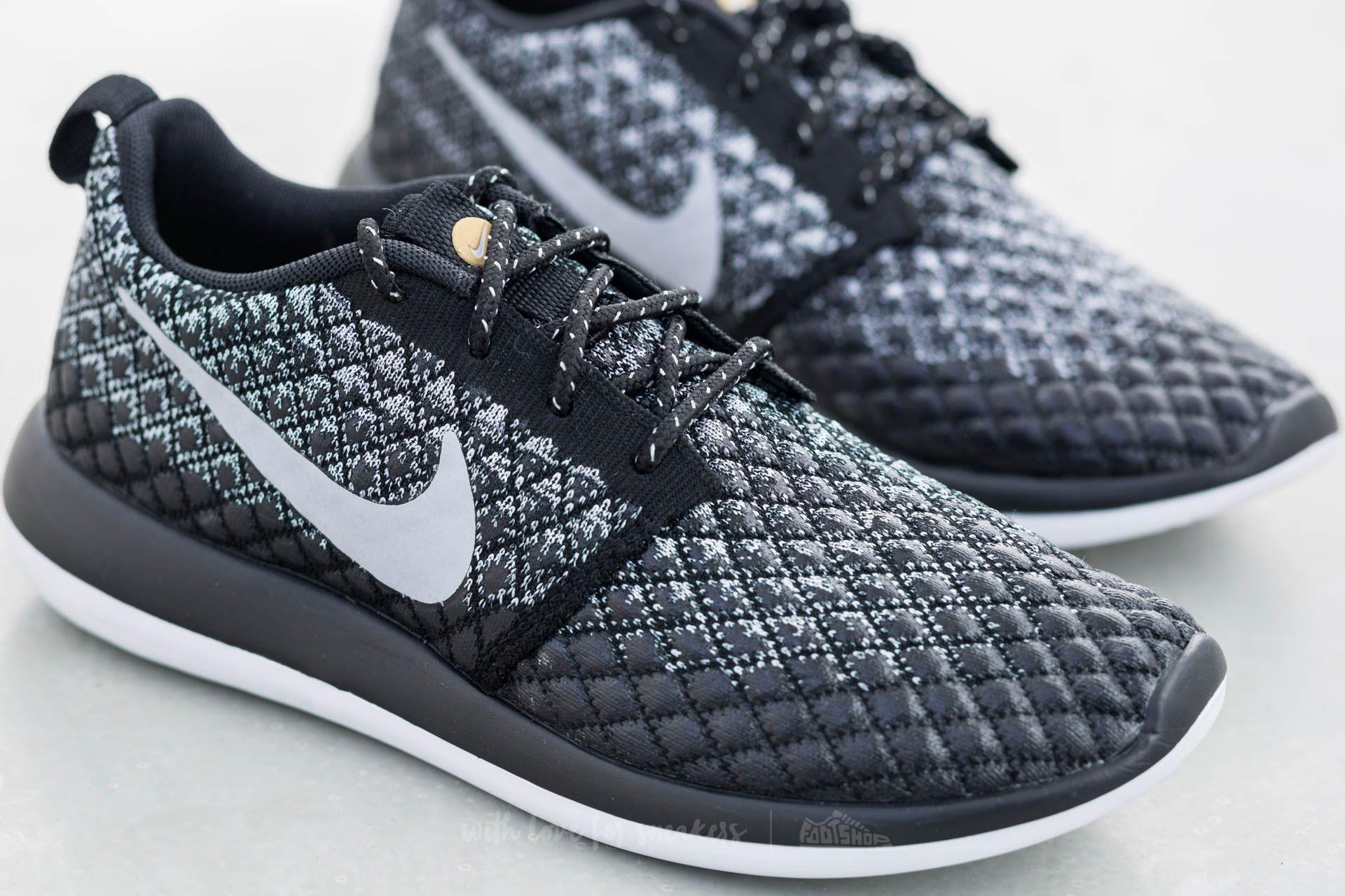 on sale 056cd e2755 Nike W Roshe Two Flyknit 365 Wolf Grey/ Wolf Grey- Black | Footshop