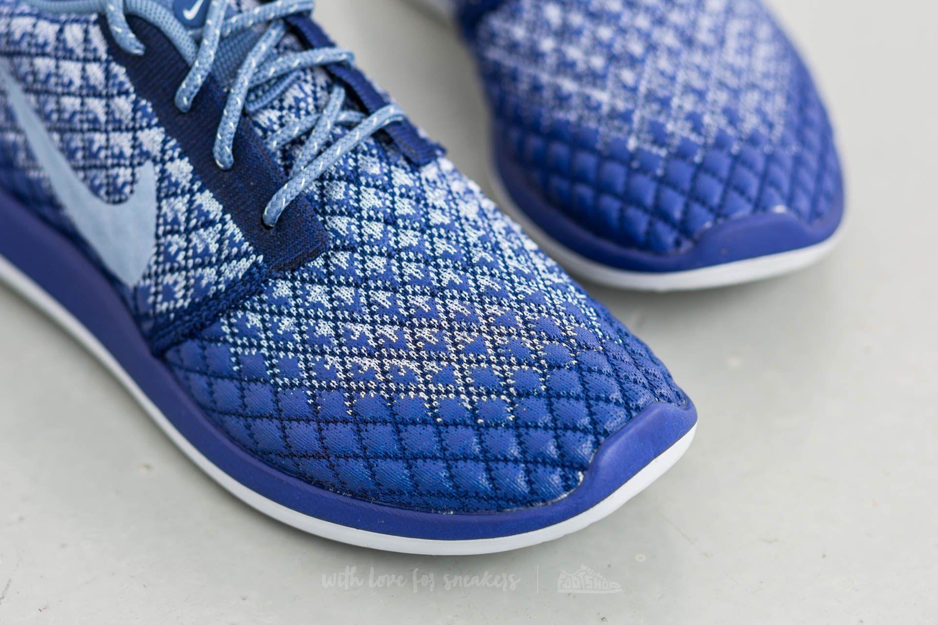 hot sale online 14fa1 b4cb0 Nike W Roshe Two Flyknit 365 Deep Royal Blue/ Ocean Fog ...