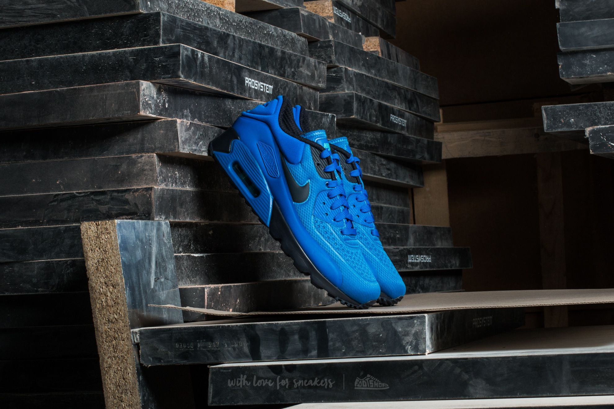 Nike Air Max 90 Ultra SE Hyper Cobalt Dark Obsidian   Footshop