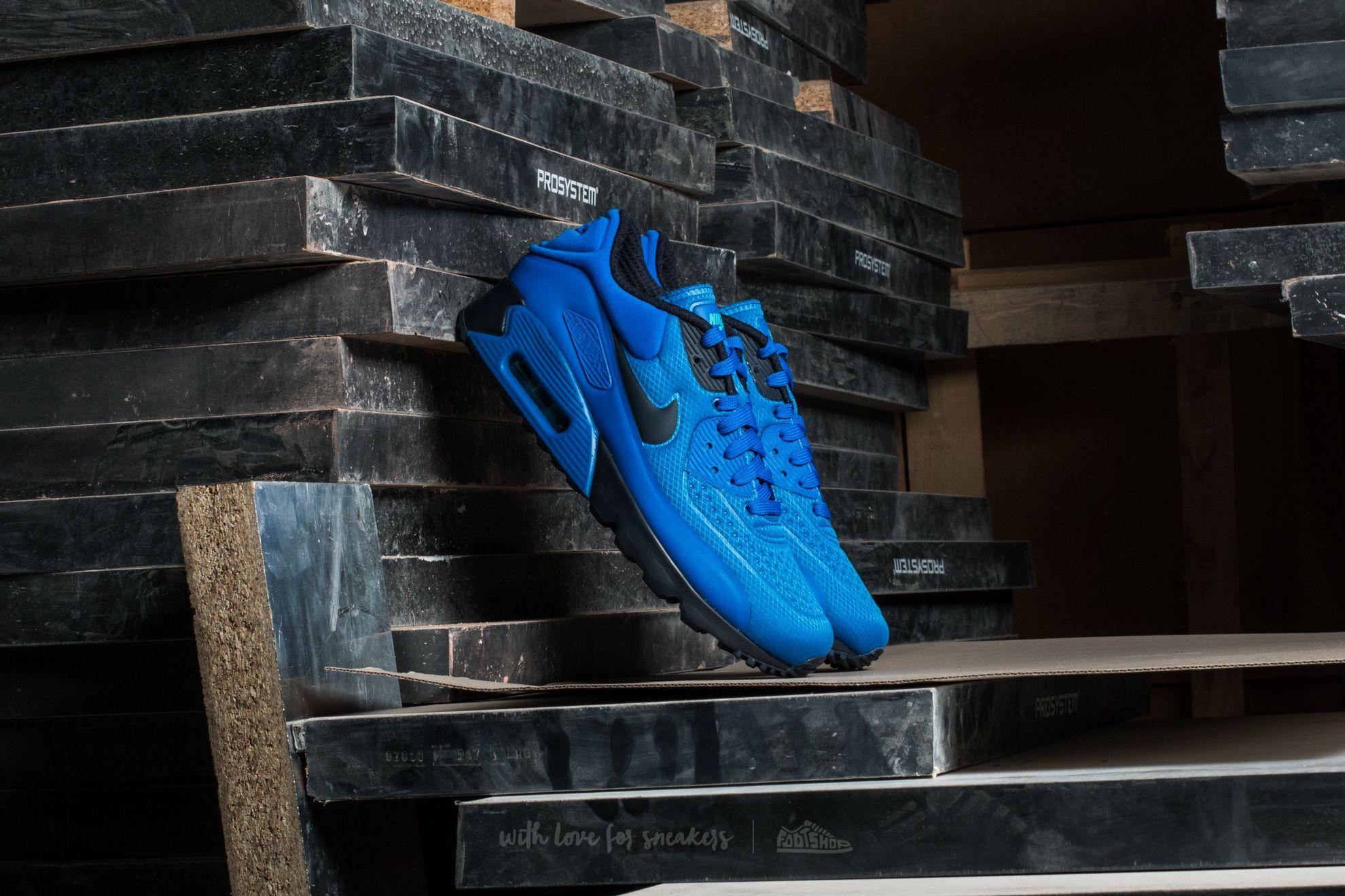 premium selection bc800 7298d Nike Air Max 90 Ultra SE. Hyper Cobalt  Dark Obsidian