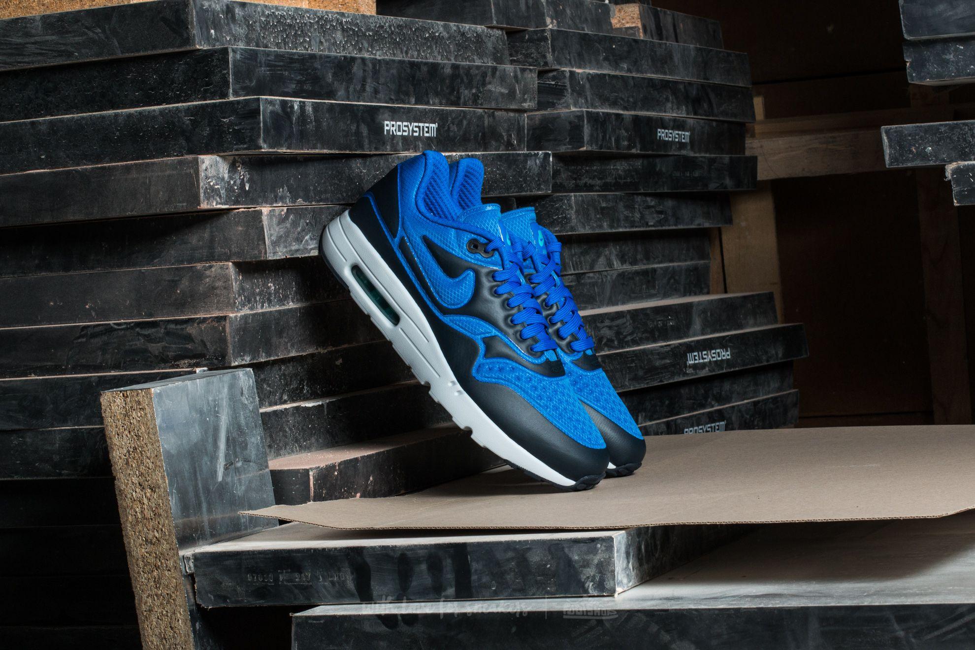 sneakers for cheap da2f5 2c007 Nike Air Max 1 Ultra SE Hyper Cobalt/ Dark Obsidian   Footshop