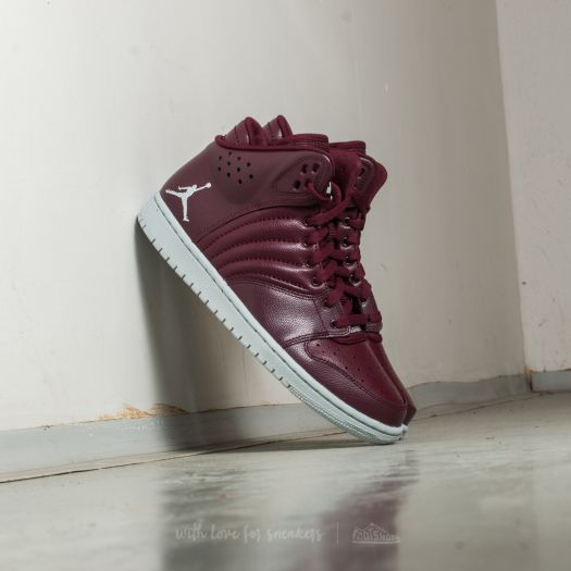 pretty nice c816b dc12c Jordan 1 Flight 4 Night Maroon/ Pure Platinum | Footshop