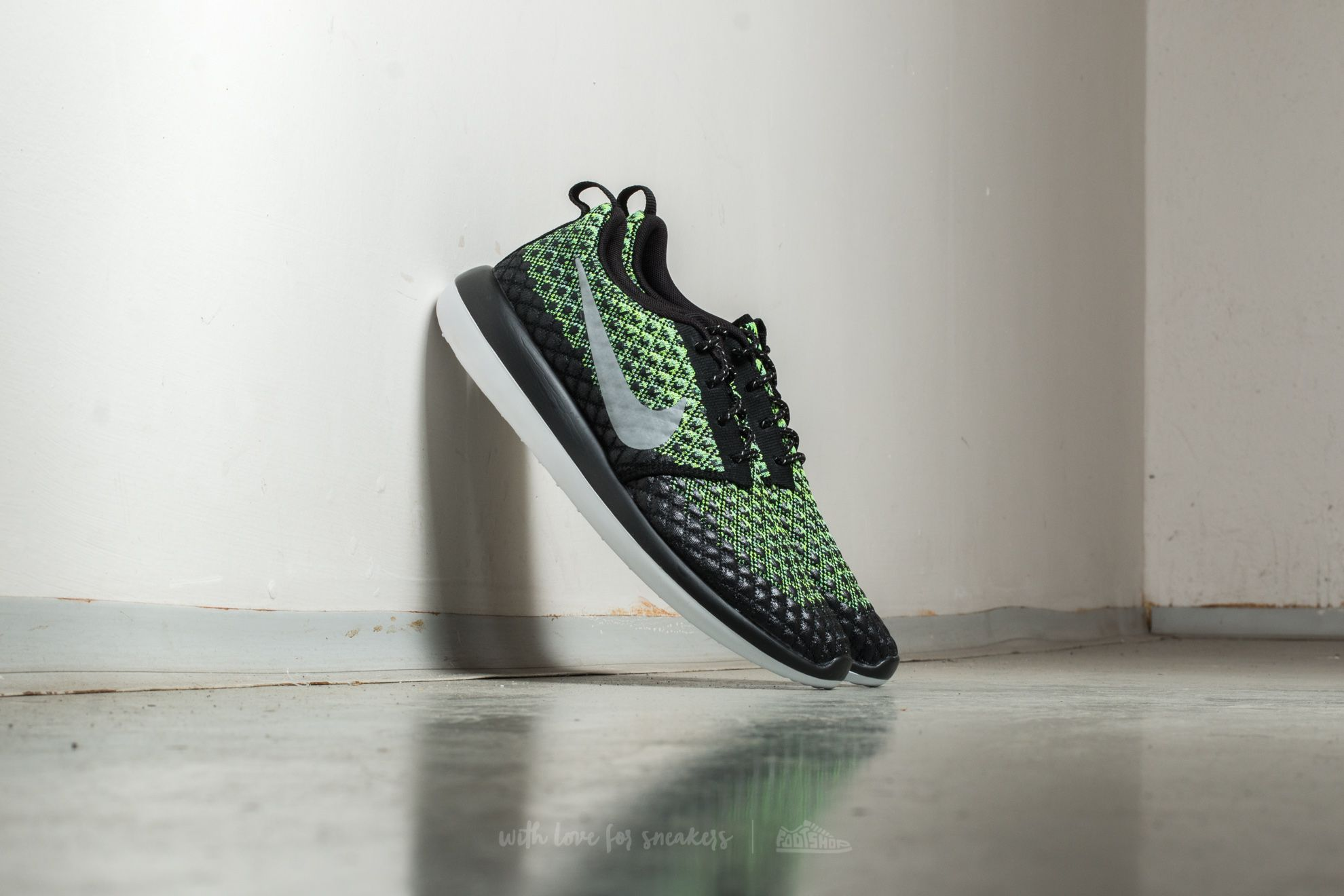 info for d7148 d7859 Nike Roshe Two Flyknit 365. Volt  Wolf Grey-Green Glow