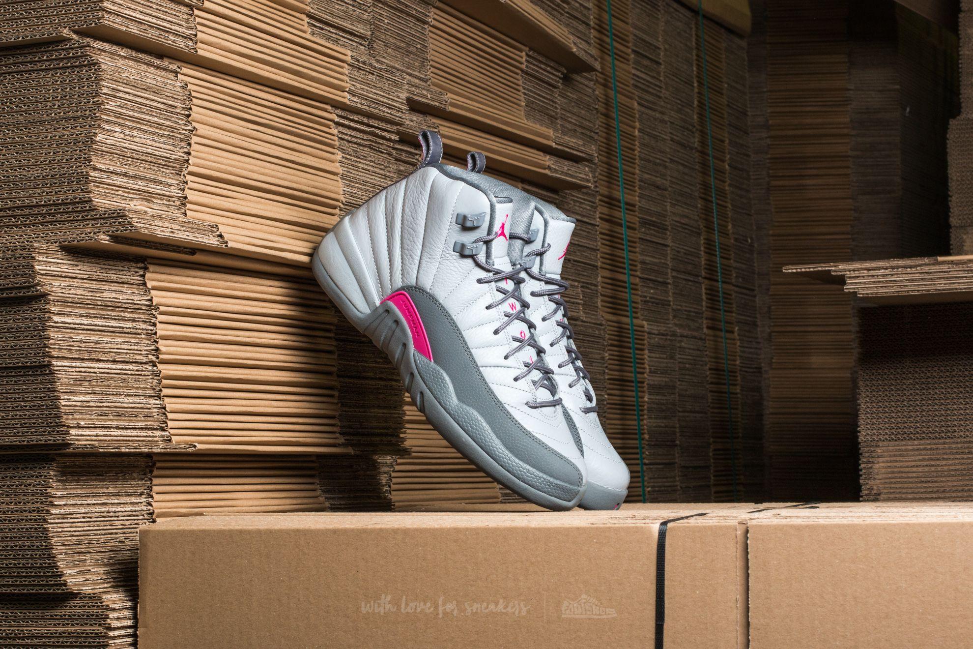 bc9819155cea Air Jordan 12 Retro GG Wolf Grey  Vivid Pink-Cool Grey