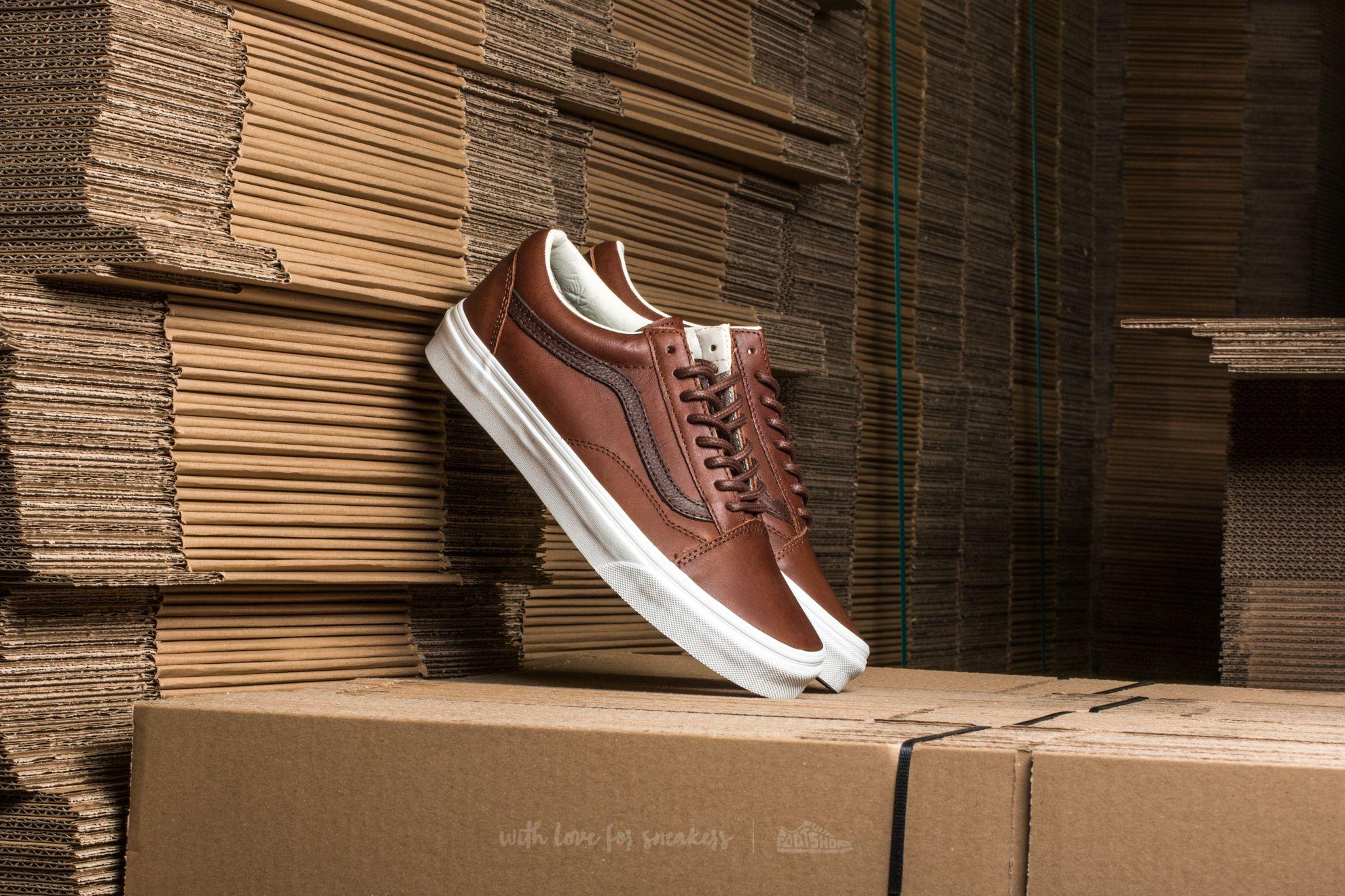 051a834b42c Vans Old Skool Leather Dachshund  Potting Soil