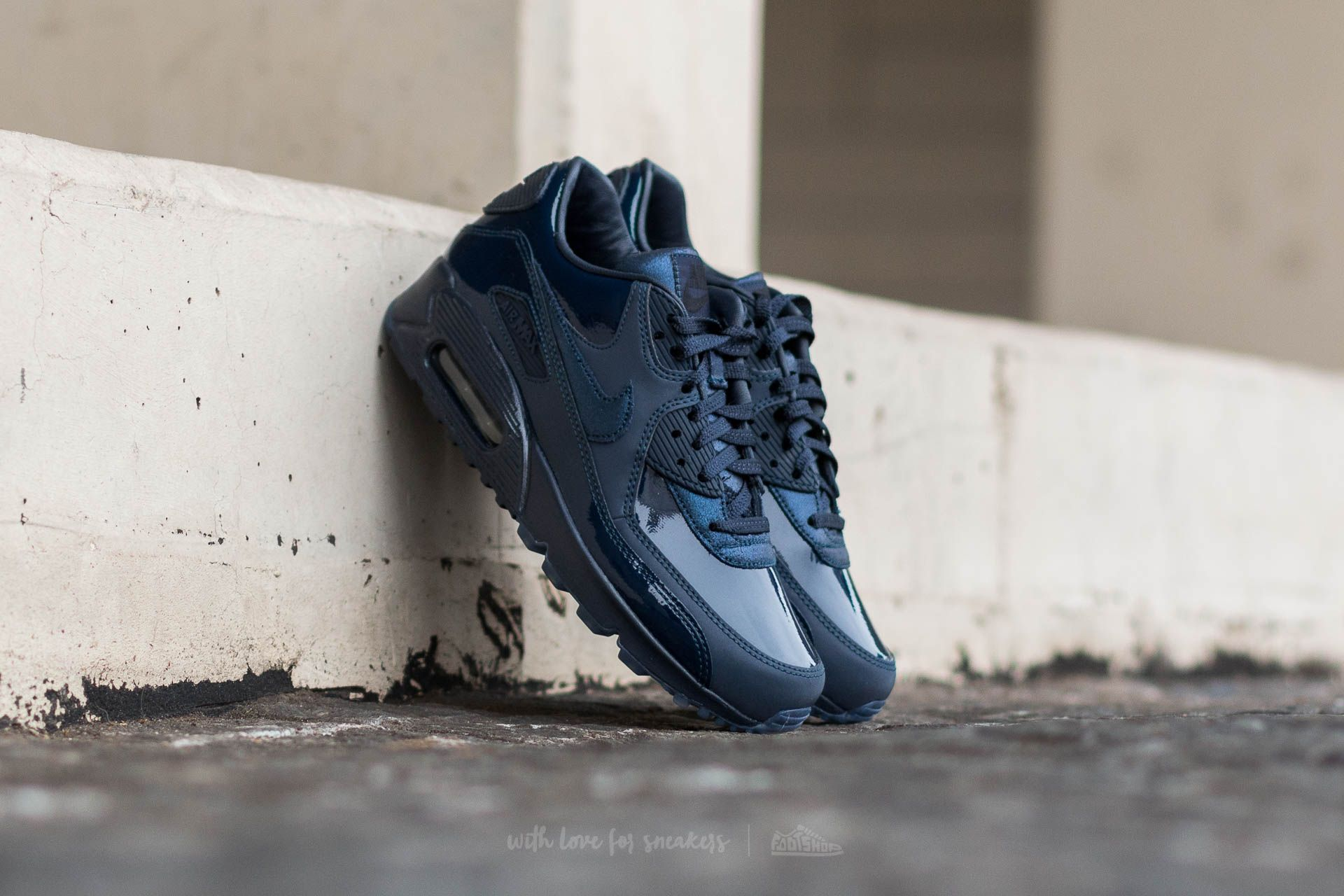 online store 2a0ce e29b5 Nike Wmns Air Max 90 Pedro Lourenco Obsidian Obsidian