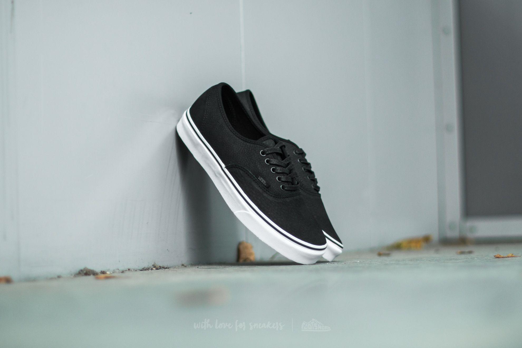 shoes Vans Authentic (Premium Leather