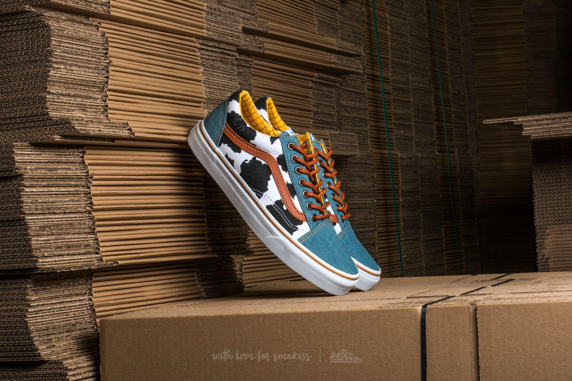 d5090a4a620574 Vans Old Skool (Toy Story) Woody  Denim