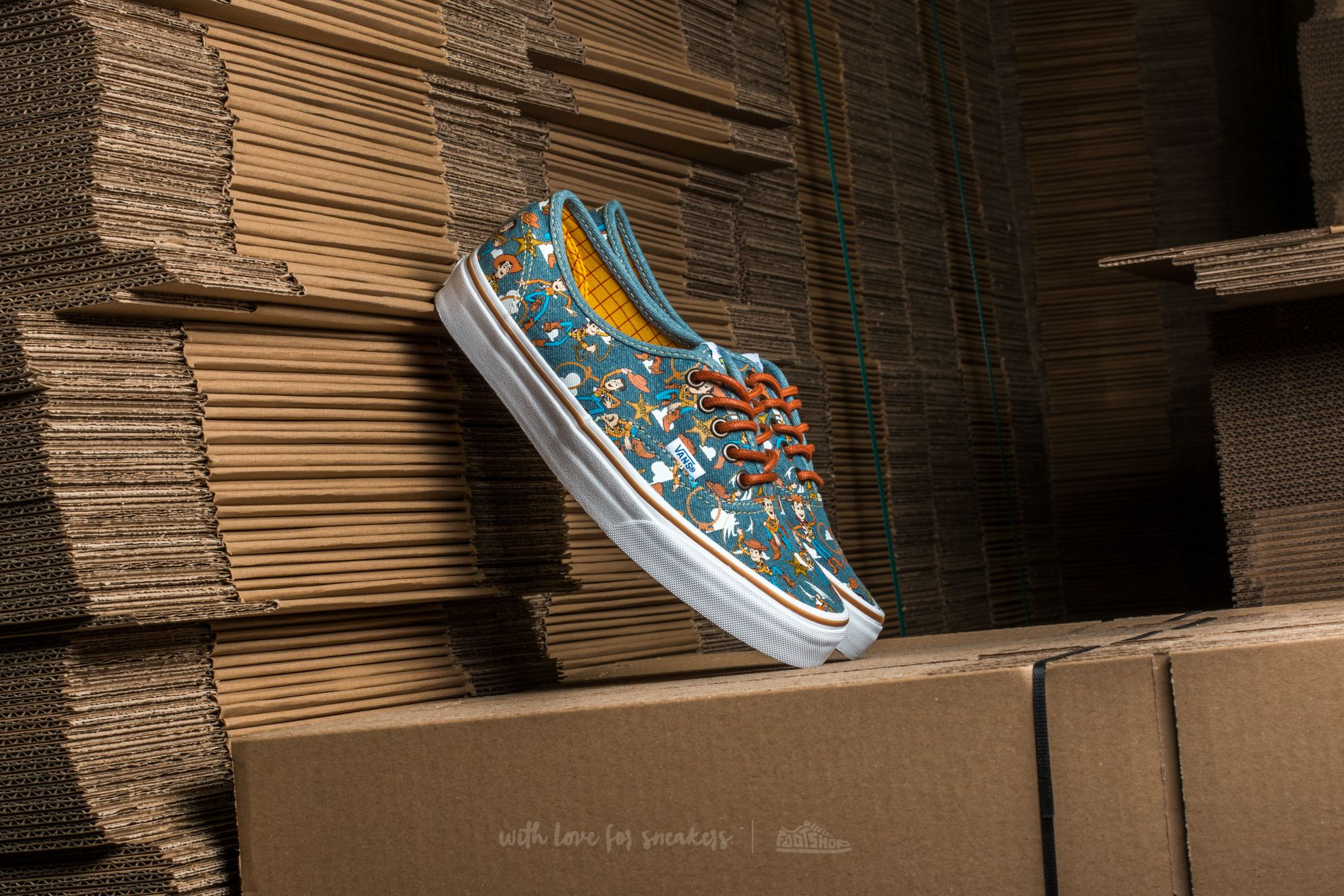 848cd47bd604f4 Vans Authentic (Toy Story) Woody  True White