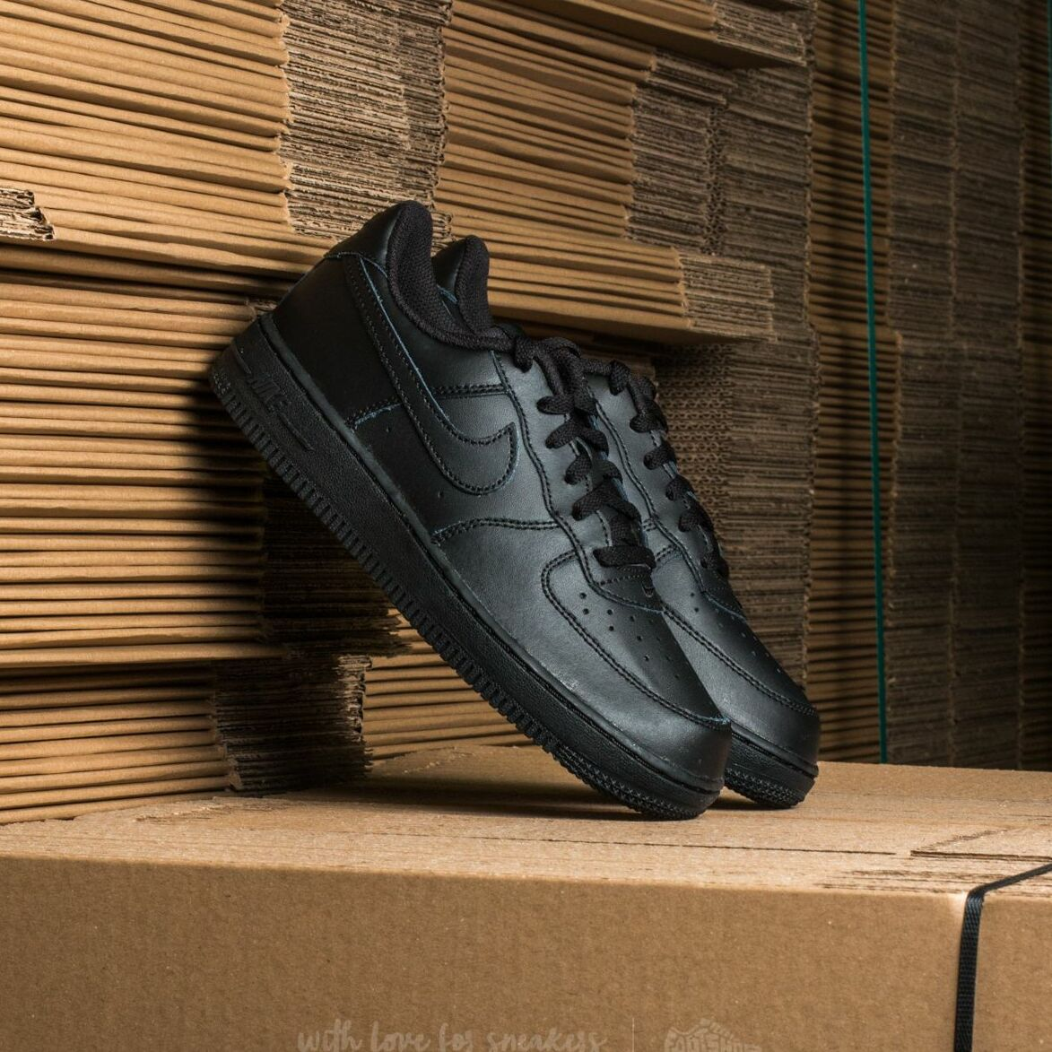 Nike Force 1 (PS) Black/ Black-Black EUR 27.5