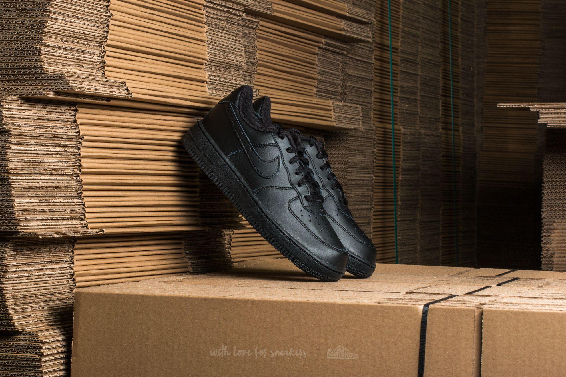 Nike Force 1 (PS) Black/ Black-Black