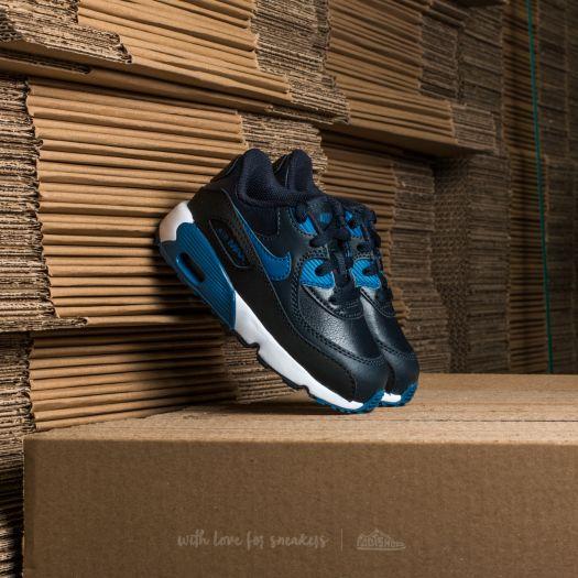 Nike Air Max 90 Leather (TD) Dark Obsidian  Court Blue-Black  8440ac9a38dab
