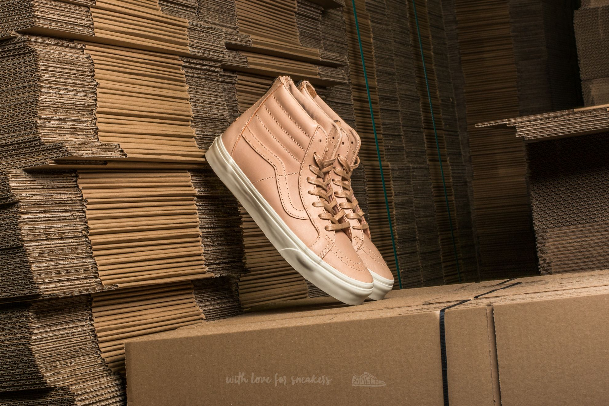 5b2dd89202e Sk8-Hi Reissue Zip (Veggie Tan Leather) Tan at a great price 60